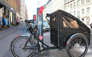 ParGo Hitsa lastcykelparkering