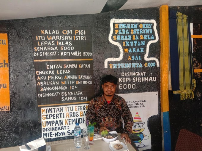 "Sya'ban Sartono Leky Tantang Debat Terbuka dengan Fridrik Makanlehi Terkait Suratnya ke BEM UI Soal _""Jokowi The King of Lip Service""_"