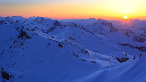 The Alps at Sundown, Bernese Oberland, Switzerland.jpg