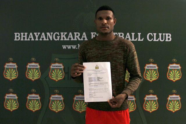 Tambah Daya Gedor, Bhayangkara FC Datangkan Marinus Wanewar