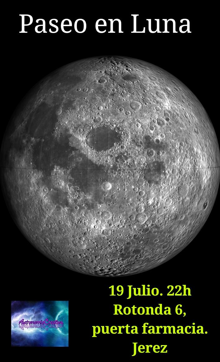 Astronom a creativa y planeta mundo paseo en luna jerez for Cambio lunar julio 2016