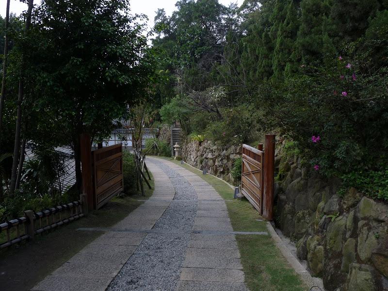 TAIWAN.Taipei .Maison japonaise vers Beitou et Musée National de Taipei à côté du Peace park - P1060303.JPG