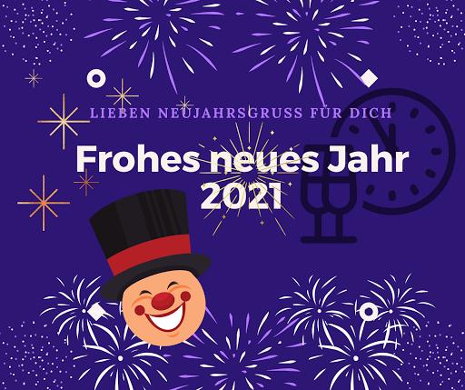 Alles Gute im neuen Jahr 2021