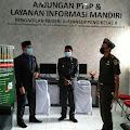 Diakhir  Masa Jabatannya Ketua Pengadilan Negeri Watansoppeng Persembahkan Redesain PTSP