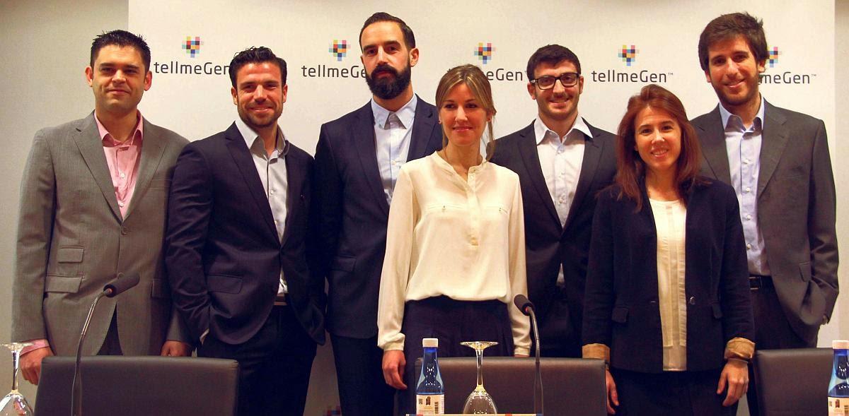 El equipo de tellmeGen, proyecto apadrinado por Lanzadera.