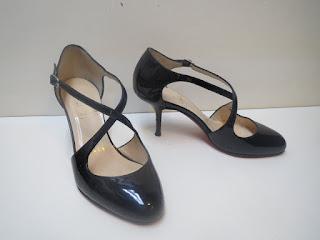 Christian Louboutin Patent Mary Janes