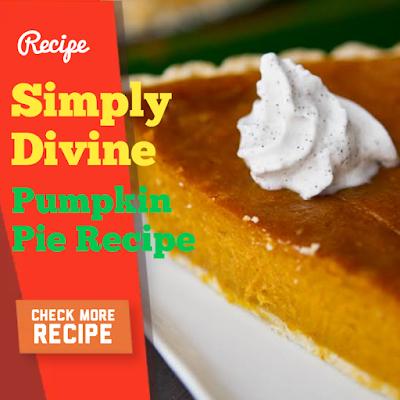 Simply Divine Pumpkin Pie