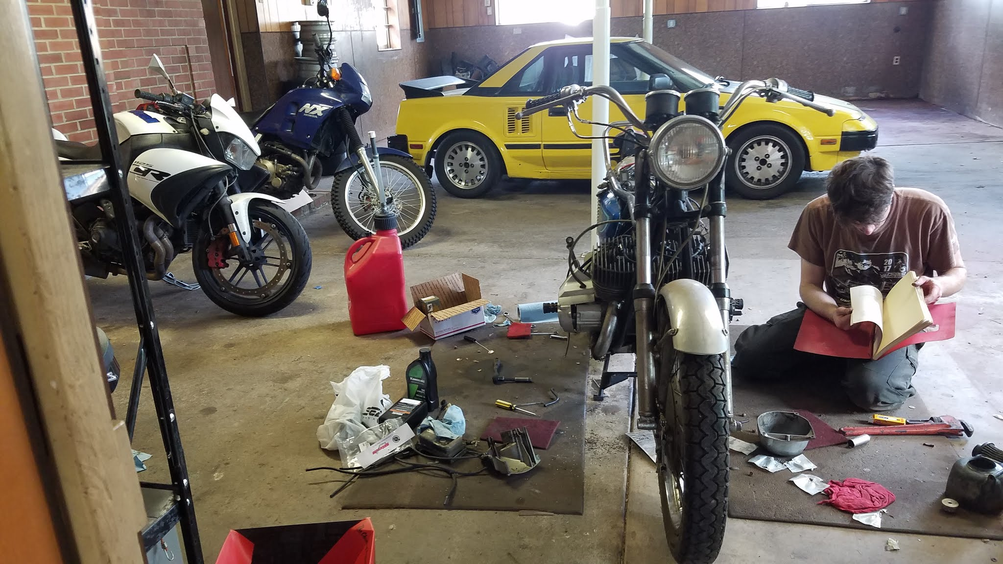 1971 Kawasaki H1-Page 2| Builds and Project Cars forum | on