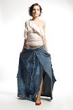– R I F L E -recyklace - sukne, orientační cena 3.000,-Kč, Top - orientační cena 1.500,-Kč,