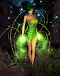 Green Wiccan Magic