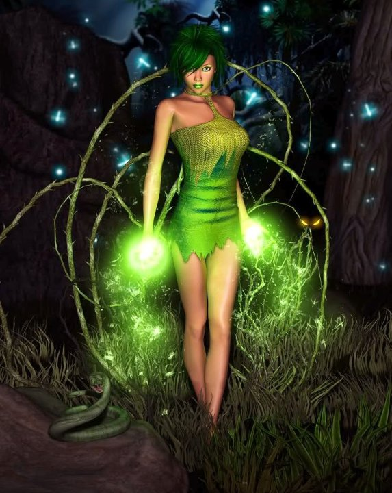Green Wiccan Magic, Green Witches