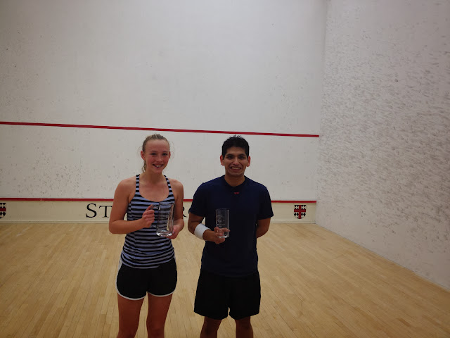 2013 RI Open, 3.0 winner Sasha Hinckley, and Michael Gonzales, finalist