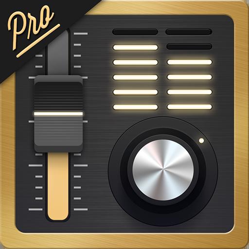 均衡器 + 专业版 (音乐播放器音量增强工具) 音樂 App LOGO-硬是要APP