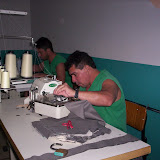 Fotos Curso de Costura Industrial para Reeducandos