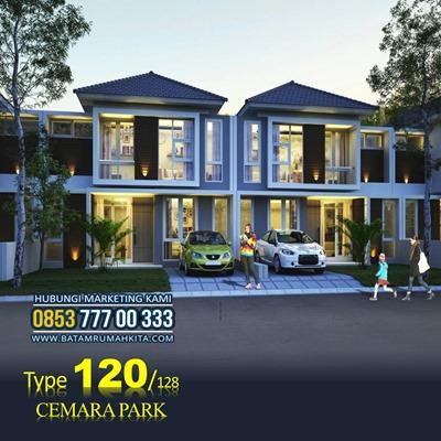 Rumah 2 Lantai Type 120 Cemara Park