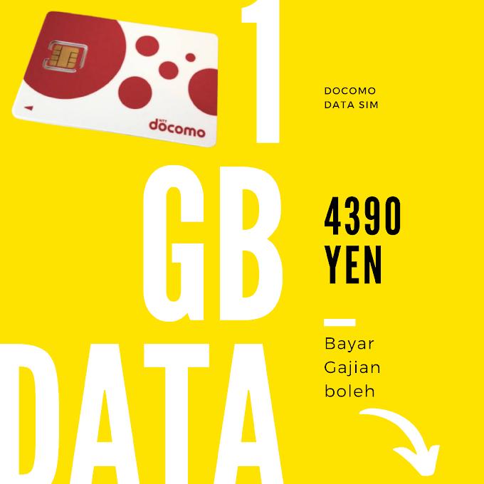 New DOCOMO AICOM 1GB