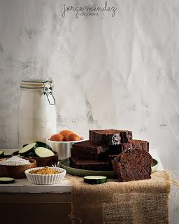 Bizcocho de Calabacín con Chocolate