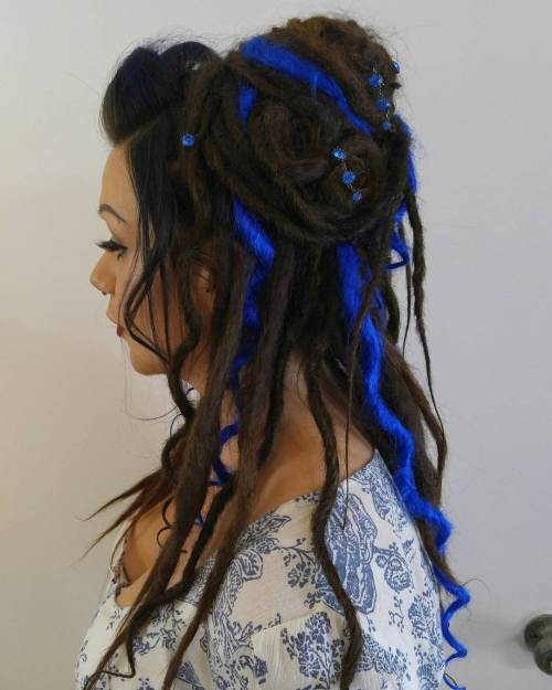 The Last Trendy Dreadlock Styles In Current Year For  woman 9