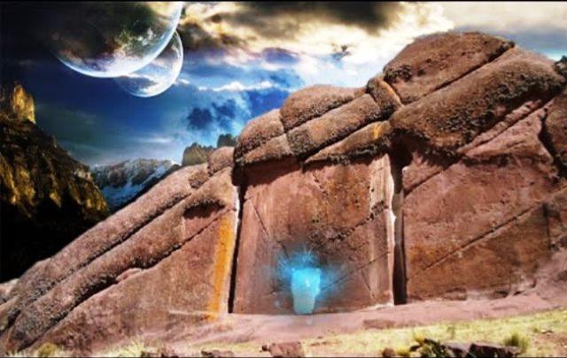 Sri Lanka um antigo granito de 6500 anos representa um Portão Estelar 07