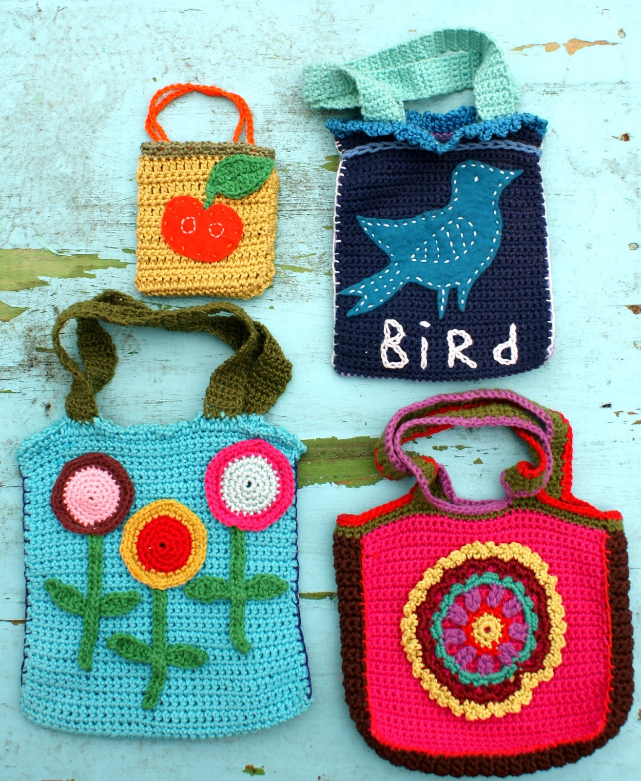 Simple Crochet Purse : ingthings: Simple crochet bag