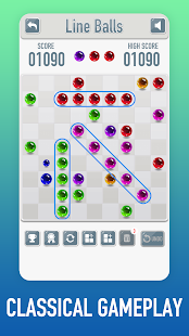 Line Ball - free classic lines game - náhled
