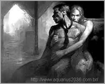 A obsessão age principalmente nas regiões do sexo, instimulando os apetites animalescos.