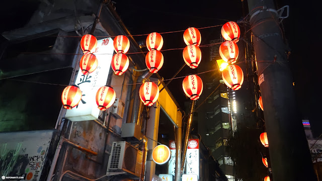 lovely lanterns in Aoyama, Tokyo, Japan