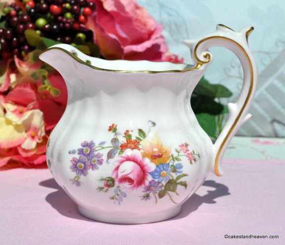 Royal Crown Derby Posies Milk Jug c.1972