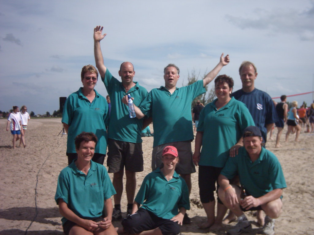 Beachvolleybal Toernooi Strand Delfstrahuizen