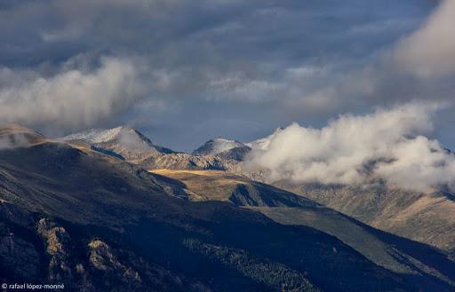Capçalera de la Vall Fosca. Vista des de la serra Espina. La Vall Fosca. Pirineus. Ruta El cinquè llac. La Torre de Capdella, Pallars Jussà, Lleida