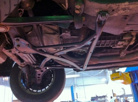 It Is Possible Modified Front Subframe To Run Stock E36