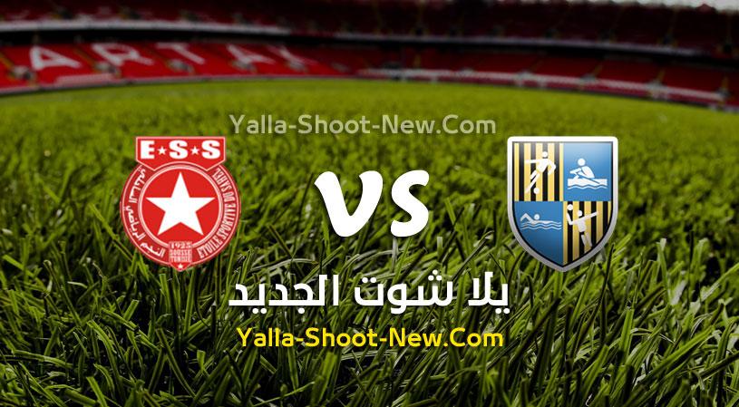 مباراة المقاولون العرب والنجم الساحلي