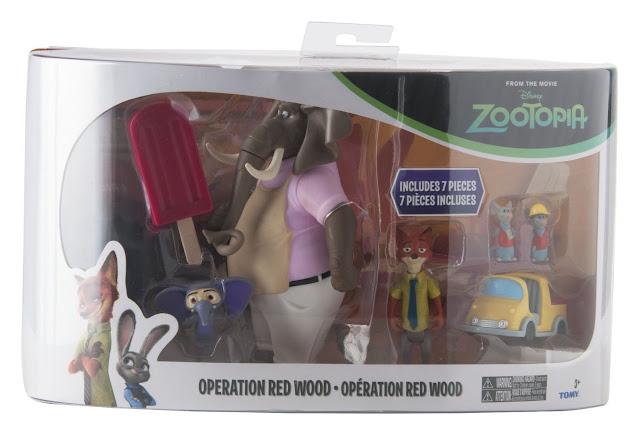Vỏ hộp bộ đồ chơi Operation Red Wood