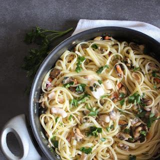 Seafood Linguine