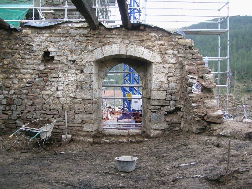 Reconstruccion Torre de Uriz - DSCN8192.JPG