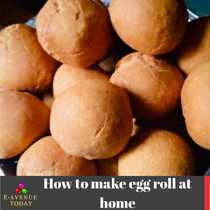 How to make egg roll at home