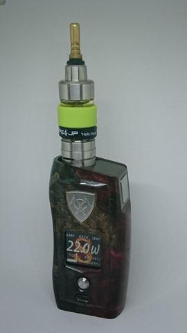 DSC 3116 thumb%255B2%255D - 【MOD】VICIOUS ANT 「KNIGHT STABWOOD #084(SX550J)」レビュー。YiHiハイエンドチップを搭載したスタビMOD!カラー液晶&Bluetooth【高級/スタビライズドウッド/電子タバコ/VAPE/フィリピン製】