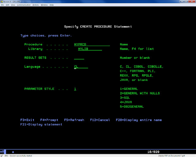 Calling remote program on DB2 from Python/Web2py | Recipe | Web2py