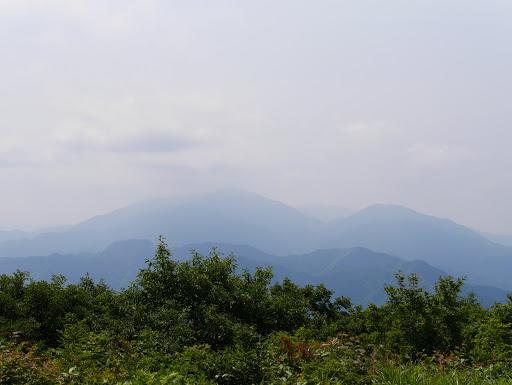 高賀三山方面