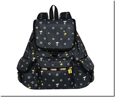 Peanuts X LeSportsac 7839 Voyager Backpack 03