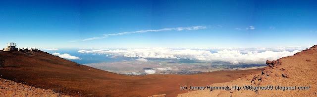 View of Wailuku from Haleakala