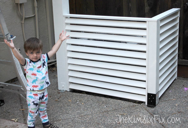 How to disquise an Air conditioner