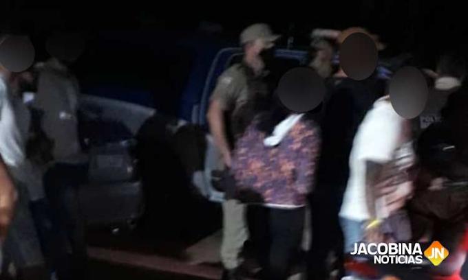 Polícia Militar encerra festa com 200 pessoas em Capim Grosso-BA