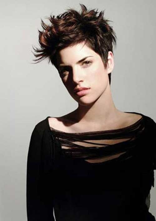 20 Spiky Pixie Cuts 2016 Fashionte