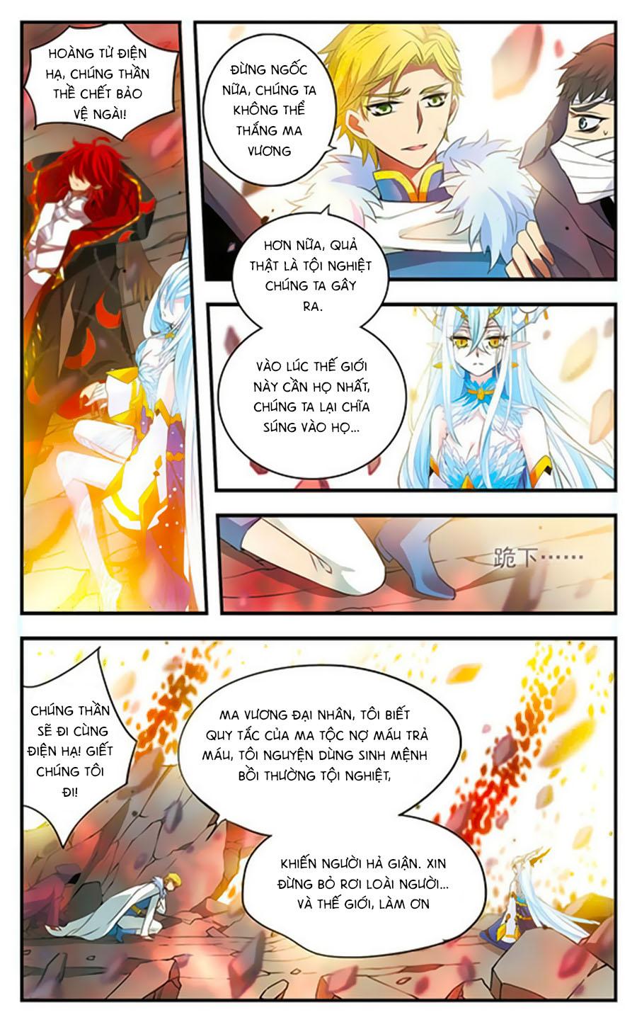 Cố Lên Nào, Đại Ma Vương! Chap 170 - Trang 7