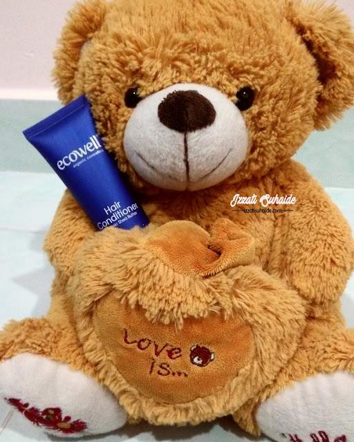 Ecowell Hair Conditioner | Rambut Lebih Bersinar dan Mudah Diurus