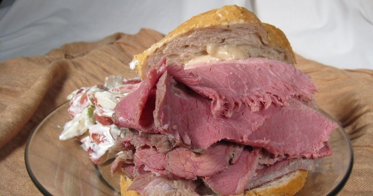 how to cook corned beef to slice