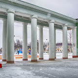 Гордость нашего Дворца культуры - колонны. Кстати, в свое время это был типовой проект и такие здания можно встретить во многих городах бывшего СССР.