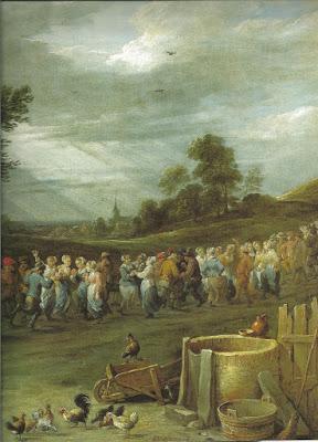 David Teniers, boerendans (detail)