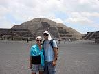 Vasilisa & Joshua at Teotihuacan (Pyramid of the Moon)